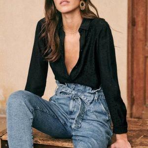 🍃💕NWT High Rise Paper Bag Belted Crop Denim Jean